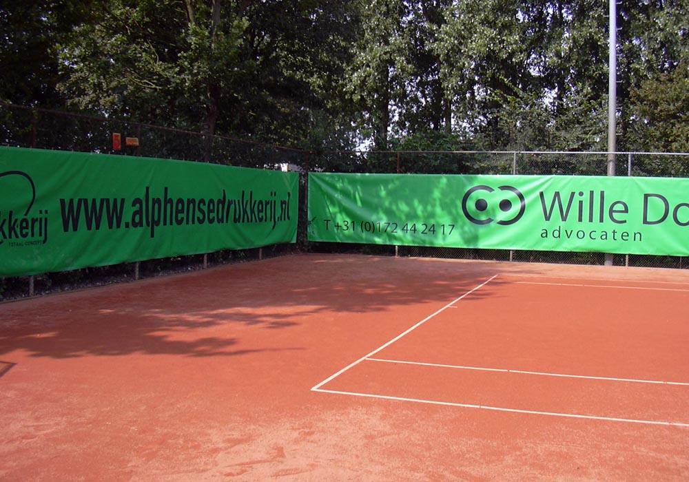 tennisdoek alphensedrukkerij